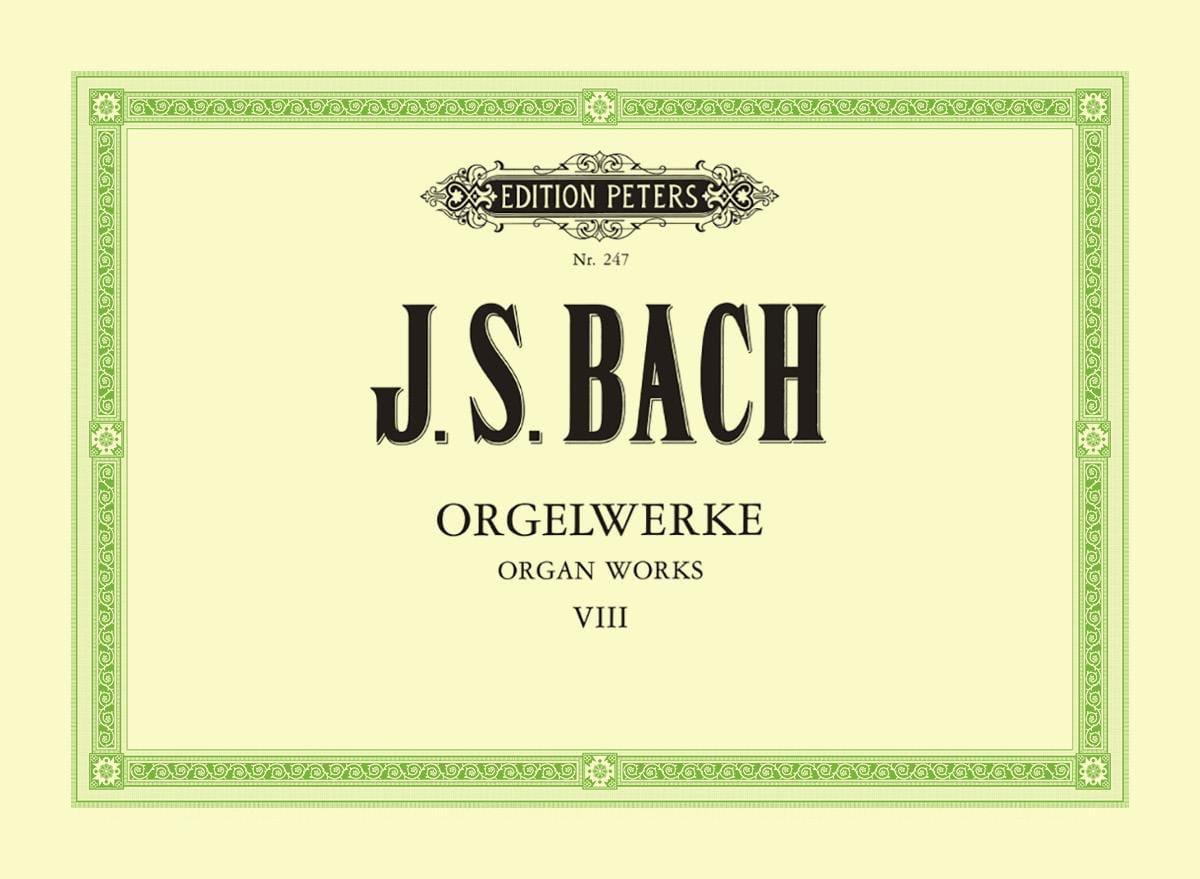 Orgelwerke. Volume 8 - BACH - Partition - Orgue - laflutedepan.com