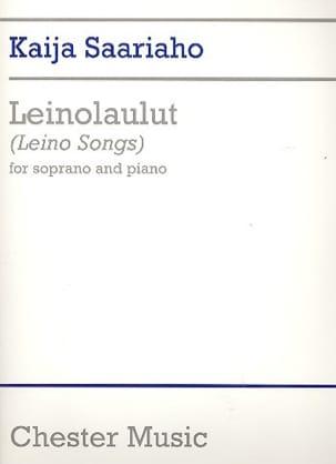 Leino-Laulut (Leino Songs) Kaija Saariaho Partition laflutedepan