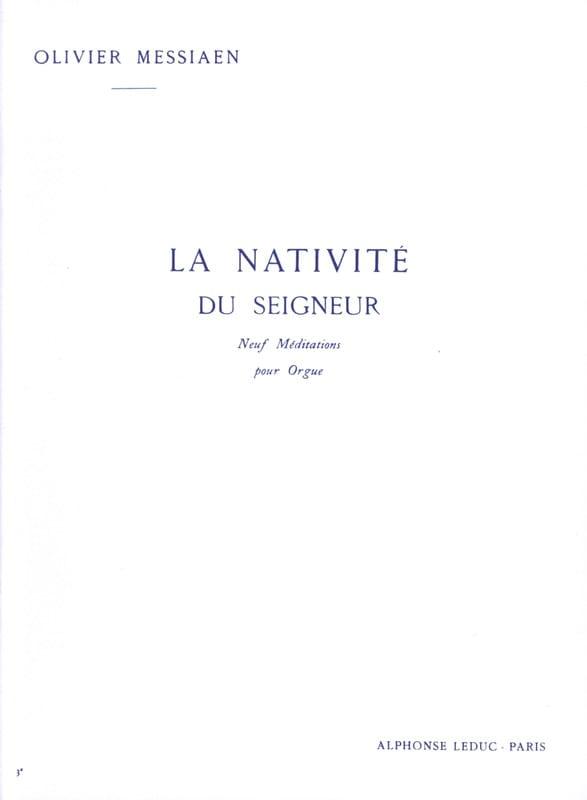 La Nativité du Seigneur. Volume 3 - MESSIAEN - laflutedepan.com