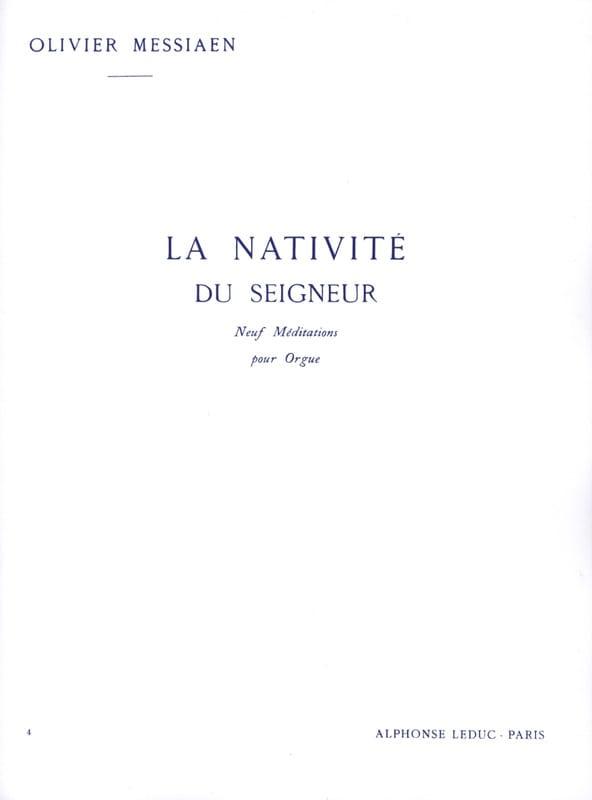 La Nativité du Seigneur. Volume 4 - MESSIAEN - laflutedepan.com