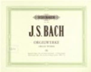 Orgelwerke. Volume 9 - BACH - Partition - Orgue - laflutedepan.com