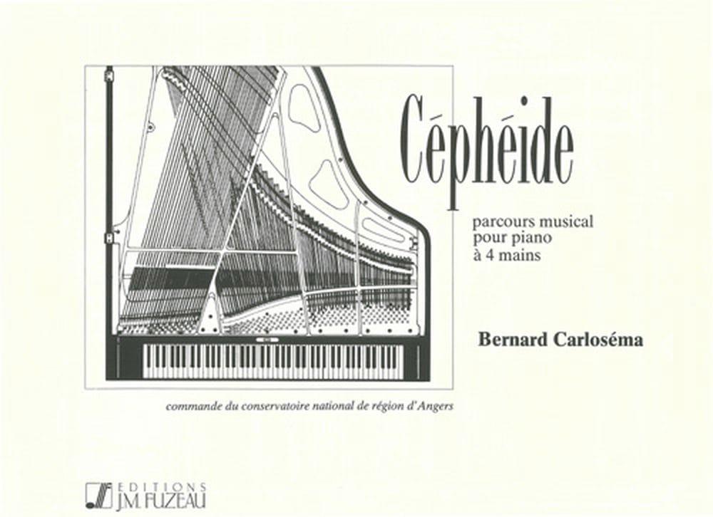 Céphéide. 4 Mains - Bernard Carloséma - Partition - laflutedepan.com