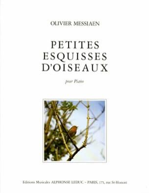 Petites Esquisses d'Oiseaux MESSIAEN Partition Piano - laflutedepan