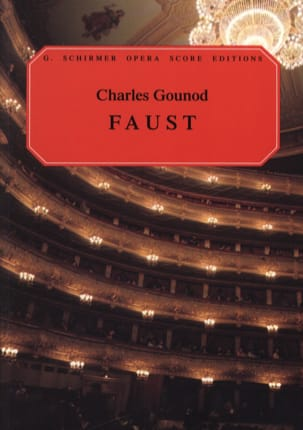 Faust GOUNOD Partition Opéras - laflutedepan