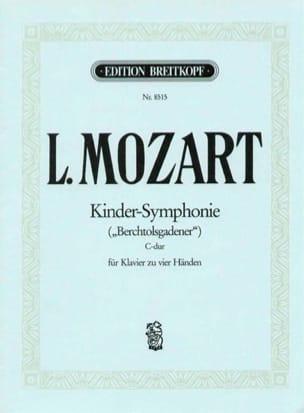 Kinder-Symphonie. 4 Mains Leopold Mozart Partition laflutedepan