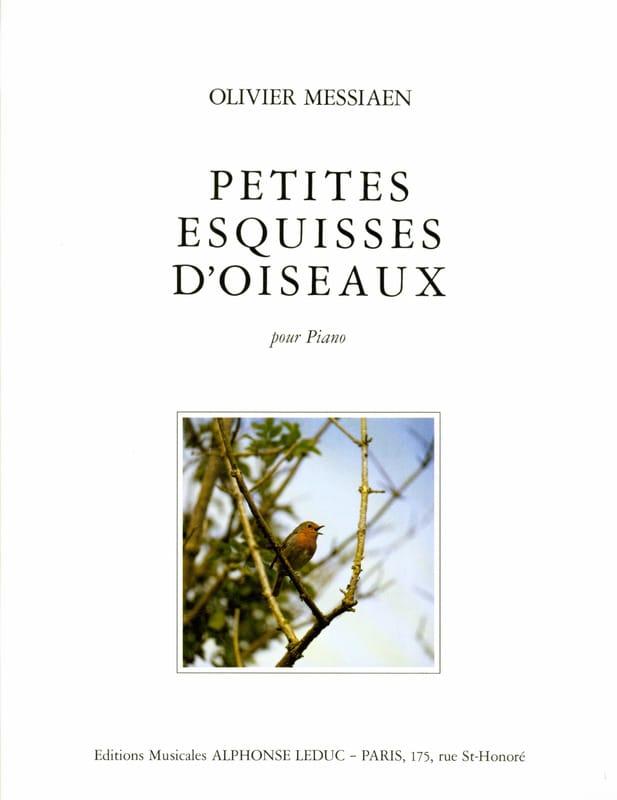 Petites Esquisses d'Oiseaux - MESSIAEN - Partition - laflutedepan.com