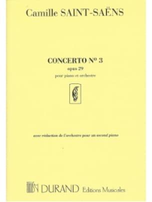 Concerto pour piano n° 3 Opus 29 - SAINT-SAËNS - laflutedepan.com