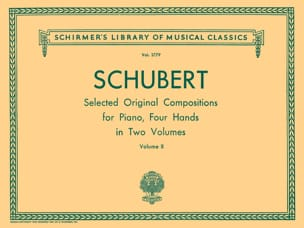 Oeuvres Pour 4 Mains Volume 2 SCHUBERT Partition Piano - laflutedepan