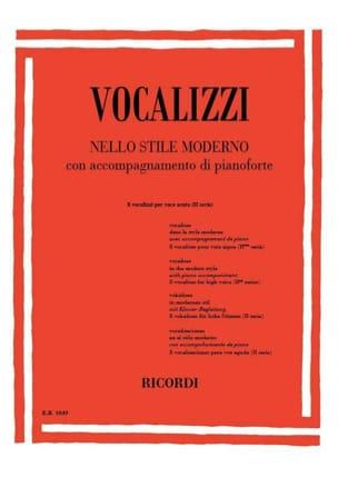Vocalises En Style Moderne 2ème Série. Partition laflutedepan
