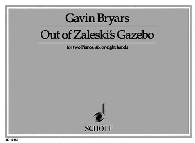 Out Of Zaleski's Gazebo. 2 Pianos 6 ou 8 mains - laflutedepan.com