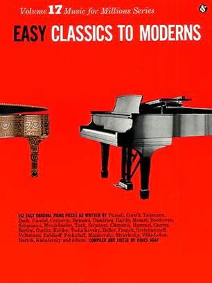 Easy Classics to Moderns - Partition - Piano - laflutedepan.com