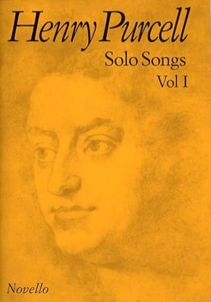 Solo Songs Volume 1 PURCELL Partition Mélodies - laflutedepan