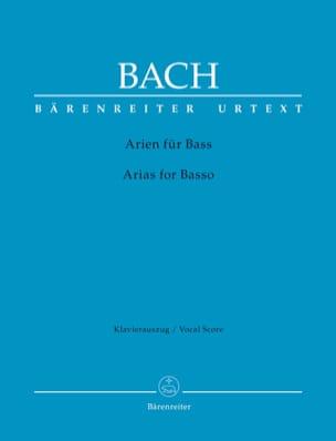Das Arienbuch Basse. BACH Partition Mélodies - laflutedepan