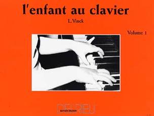 L' Enfant Au Clavier Volume 1 Lina Vinck Partition laflutedepan