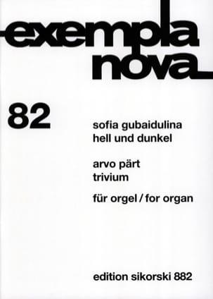 Hell Und Dunkel - Trivium Gubaidulina Sophia / Pärt Arvo laflutedepan