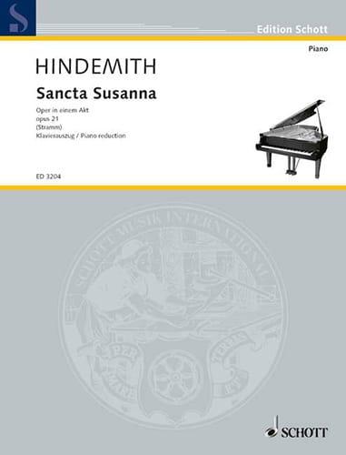 Sancta Susanna Op. 21 - HINDEMITH - Partition - laflutedepan.com