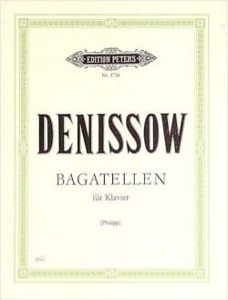 Bagatelles Edison Denisov Partition Piano - laflutedepan