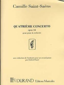 Concerto pour piano n° 4 Opus 44 SAINT-SAËNS Partition laflutedepan
