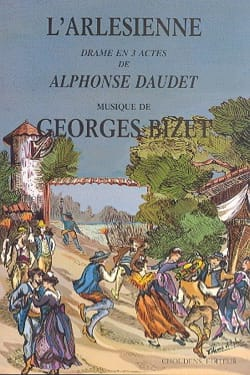 L'Arlésienne BIZET Partition Opéras - laflutedepan