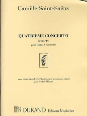 Concerto pour piano n° 4 Opus 44 - SAINT-SAËNS - laflutedepan.com