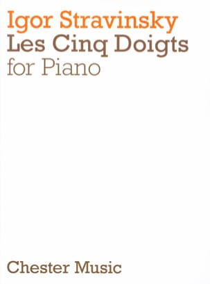 Les 5 Doigts STRAVINSKY Partition Piano - laflutedepan