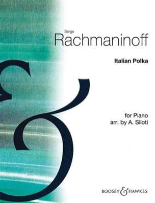 Italian Polka RACHMANINOV Partition Piano - laflutedepan