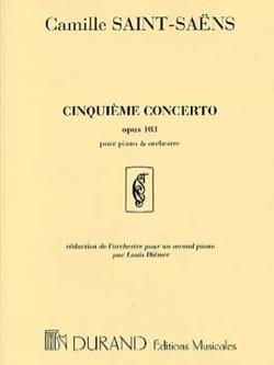 Concerto Pour Piano n° 5 Opus 103 SAINT-SAËNS Partition laflutedepan