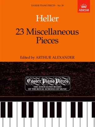 Stephen Heller - 23 Miscellaneous Pieces - Partition - di-arezzo.co.uk