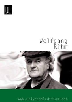 Neue Alexanderlieder Wolfgang Rihm Partition Mélodies - laflutedepan