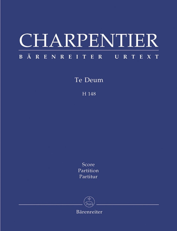 Te Deum - CHARPENTIER - Partition - Chœur - laflutedepan.com