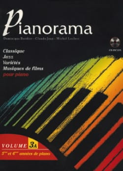 Pianorama 3A Partition Piano - laflutedepan