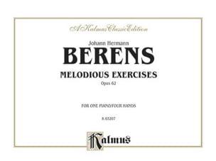 Melodious Exercices Op. 62 4 Mains - Berens - laflutedepan.com