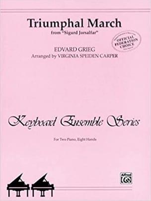 Marche Triomphale - GRIEG - Partition - Piano - laflutedepan.com