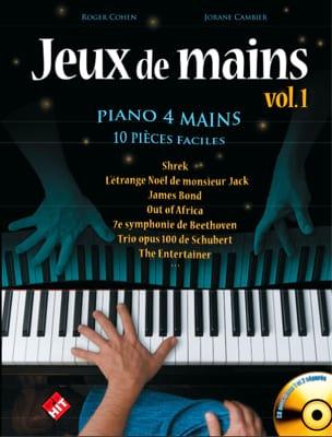 Jeux de Mains. 4 Mains Partition Piano - laflutedepan