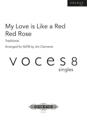 My Love is like a red, red rose Traditionnel Partition laflutedepan