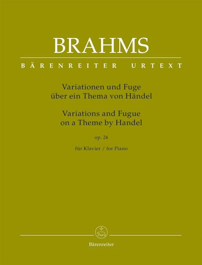 Variations et fugue sur un thème de Haendel op. 24 - laflutedepan.com