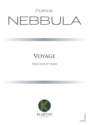 Voyage Patrick Nebbula Partition Mélodies - laflutedepan