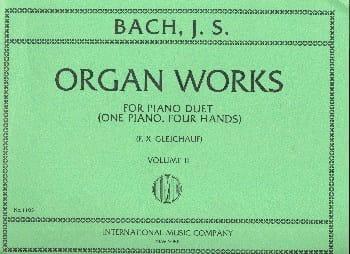 Organ Works For Piano Duet Volume 2 - BACH - laflutedepan.com