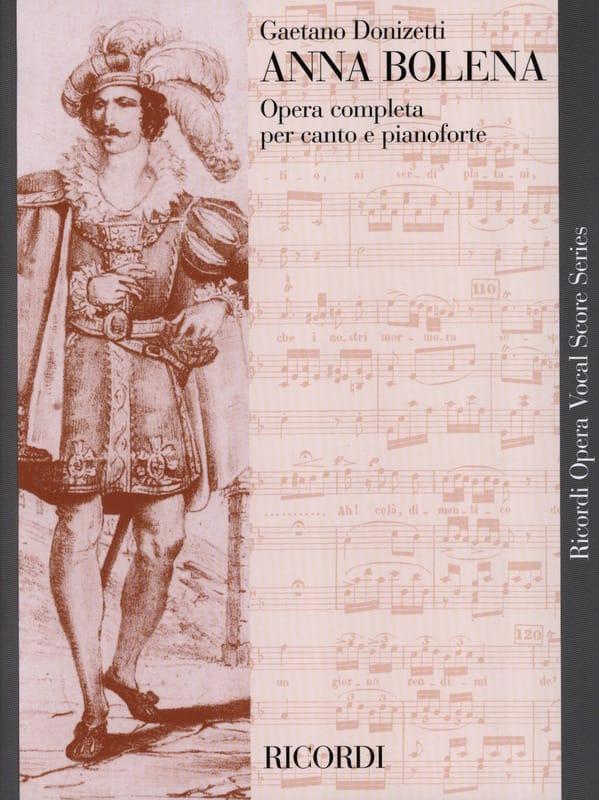 Anna Bolena - DONIZETTI - Partition - Opéras - laflutedepan.com