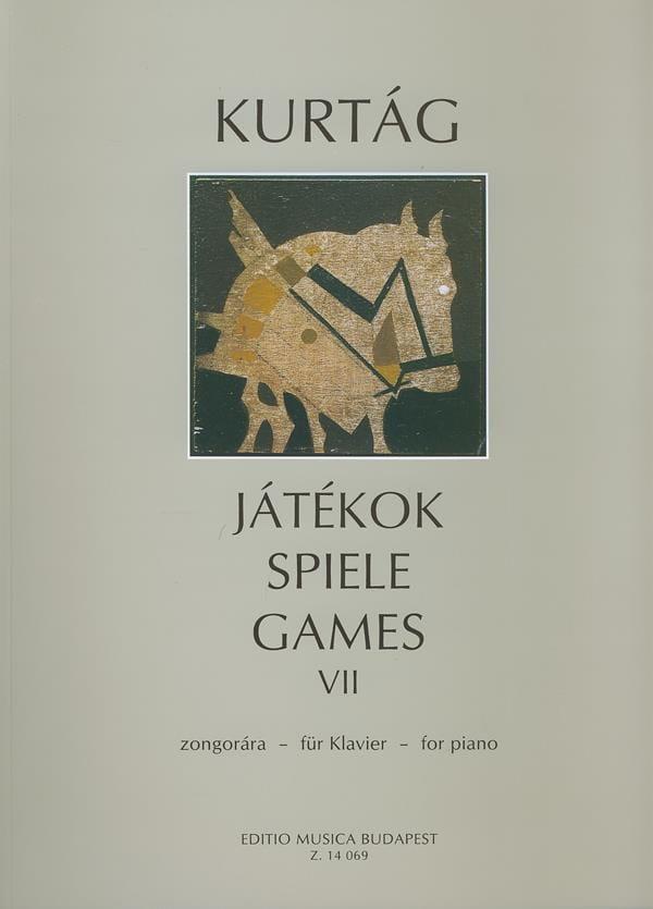Jatekok Volume 7 - KURTAG - Partition - Piano - laflutedepan.com