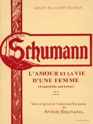 L'amour et la Vie D'une Femme Opus 42 - SCHUMANN - laflutedepan.com