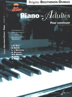 Piano-Adultes, Pour Continuer Bouthinon-Dumas Brigitte laflutedepan