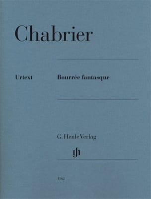 Bourrée Fantasque CHABRIER Partition Piano - laflutedepan