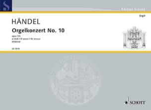 Concerto N° 10 Ré Mineur Opus 7-4 - HAENDEL - laflutedepan.com