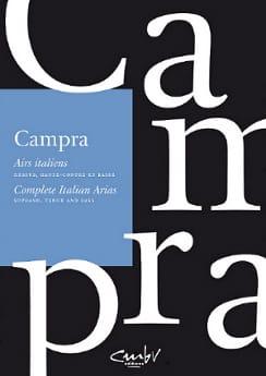 Airs italiens - CAMPRA - Partition - Opéras - laflutedepan.com