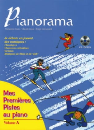Pianorama Volume A - Partition - Piano - laflutedepan.com