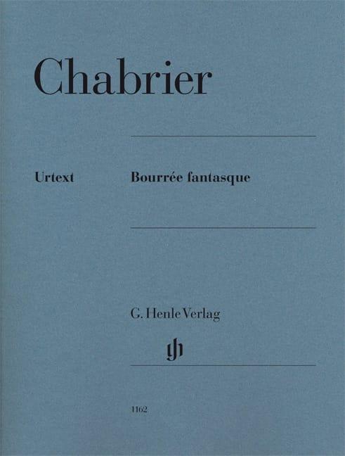 Bourrée Fantasque - CHABRIER - Partition - Piano - laflutedepan.com