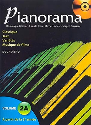Pianorama 2A Partition Piano - laflutedepan