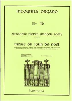 Messe du jour de Noël Alexandre Pierre François Boëly laflutedepan