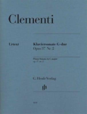 Sonate pour piano en Sol majeur op. 37 n° 2 - laflutedepan.com